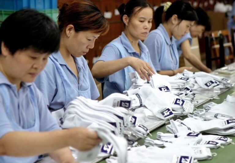 socks factory in china
