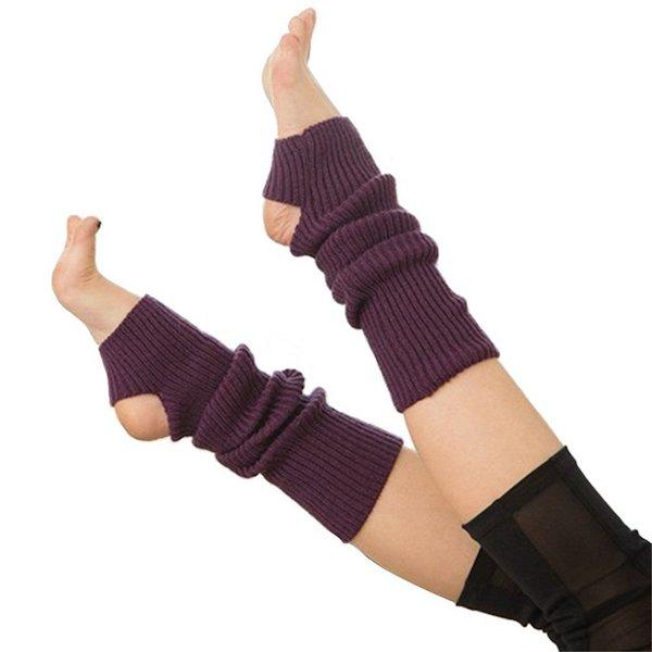 Calf Knitted Leg Warmers Yoga Socks wholesale