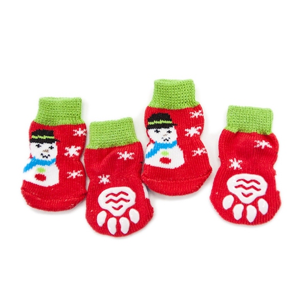 Non-Slip Pet Socks with Rubber