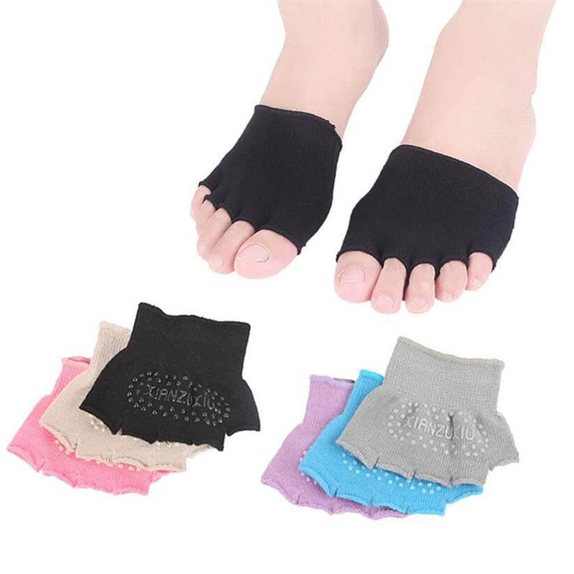 half palm yoga socks wholesale