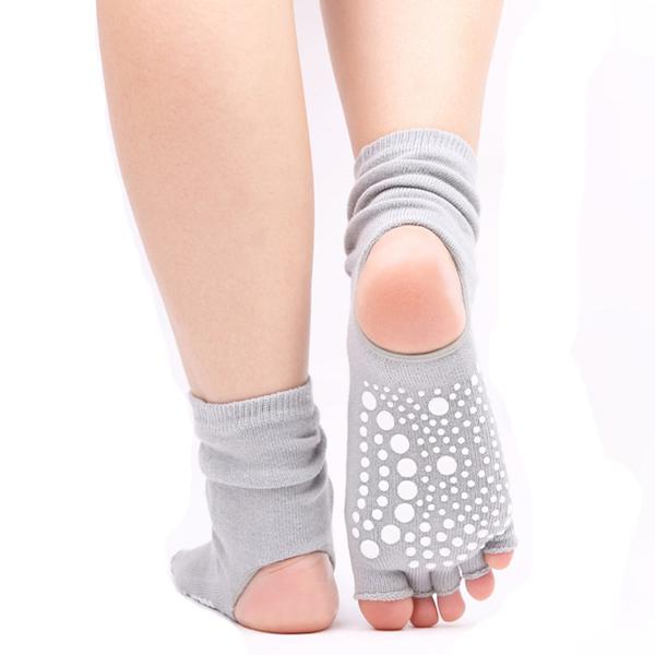 heeless open heel yoga socks wholesale